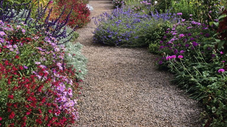 Alternatives to grass: gravel