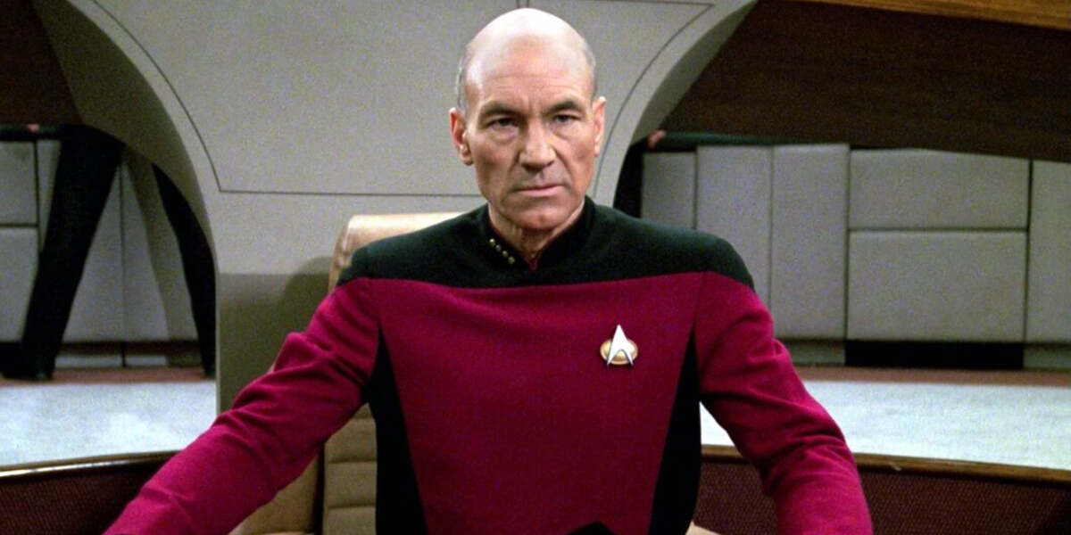 Star Trek: The Next Generation Jean-Luc Picard Patrick Stewart CBS