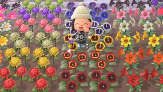 Animal Crossing: New Horizons flowers