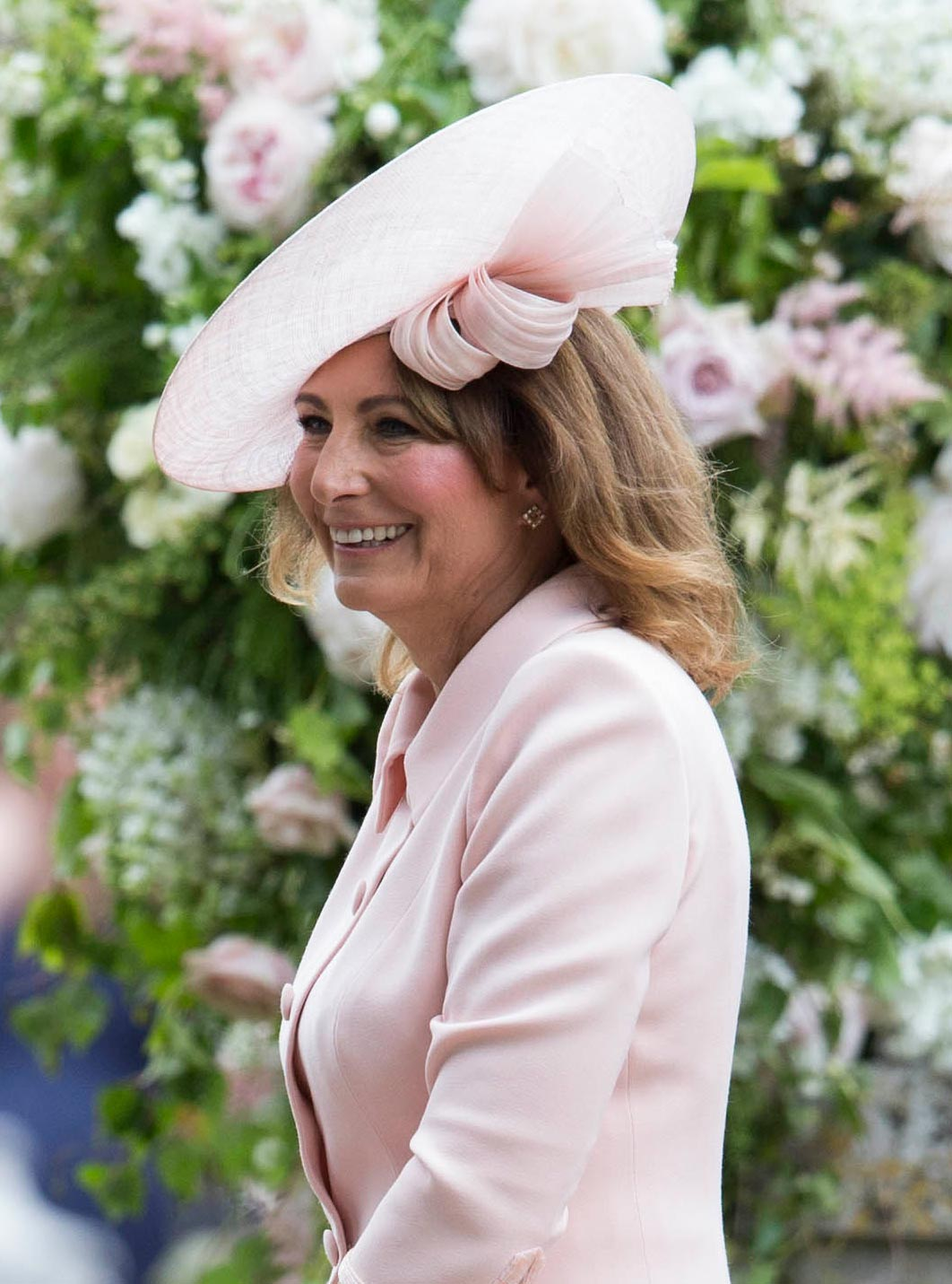 carole middleton mother of the bride hair