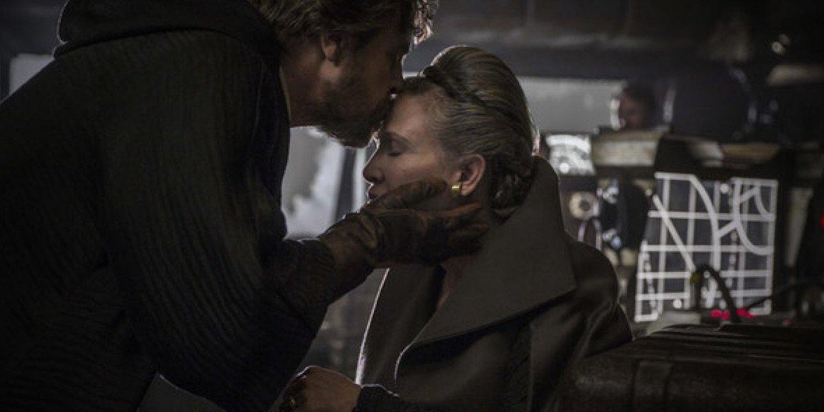 Luke and Leia in The Last Jedi