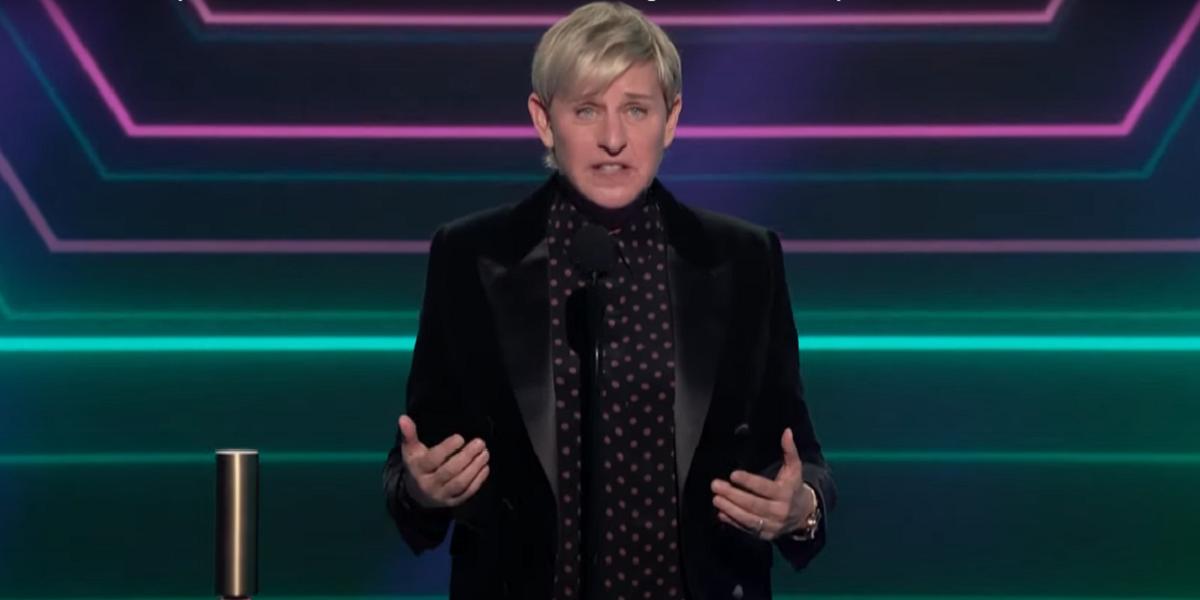 Ellen DeGeneres' talk show wins People's Choice Award despite toxic workplace controversy