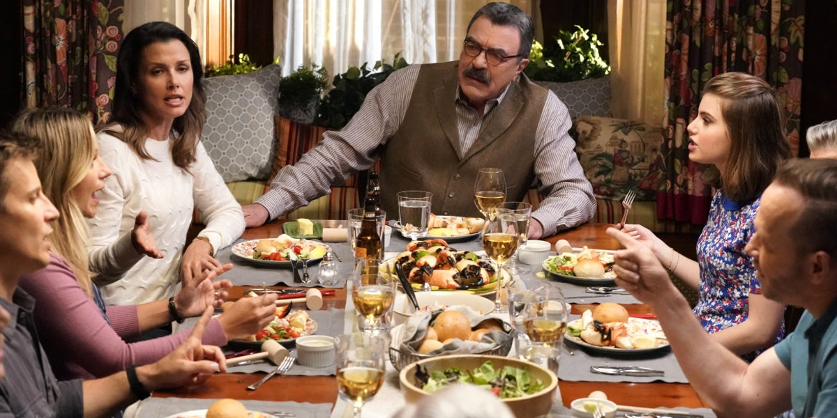blue bloods family dinner cbs