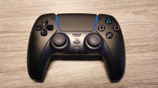 Custom black PS5 controller