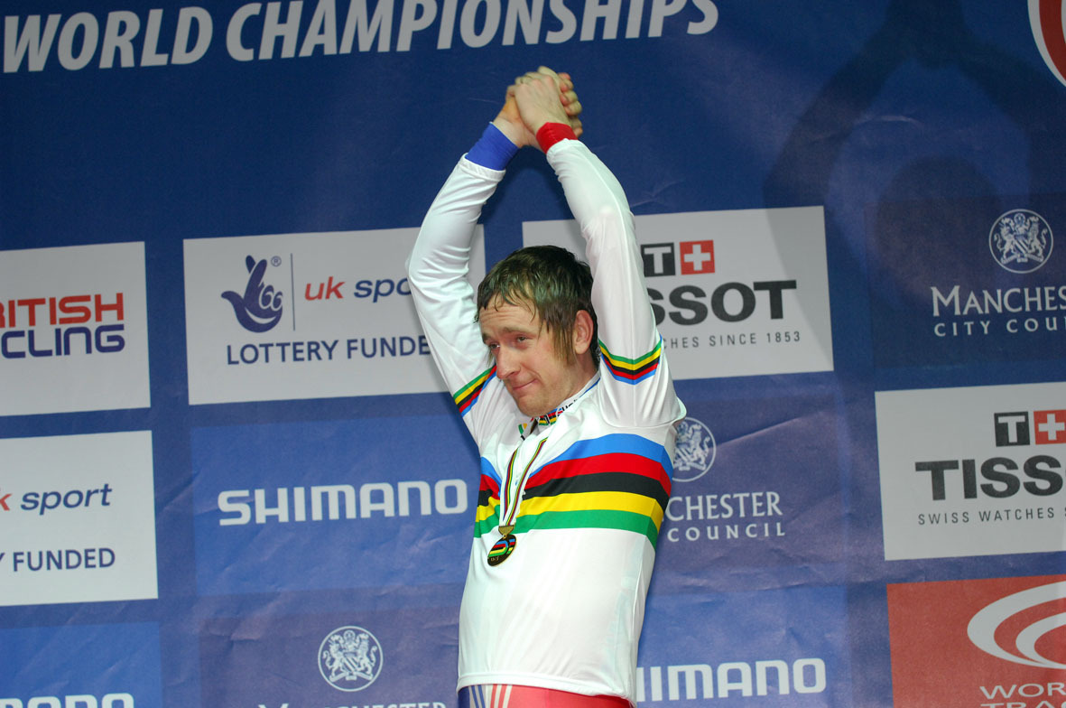 Bradley Wiggins pursuit world champion