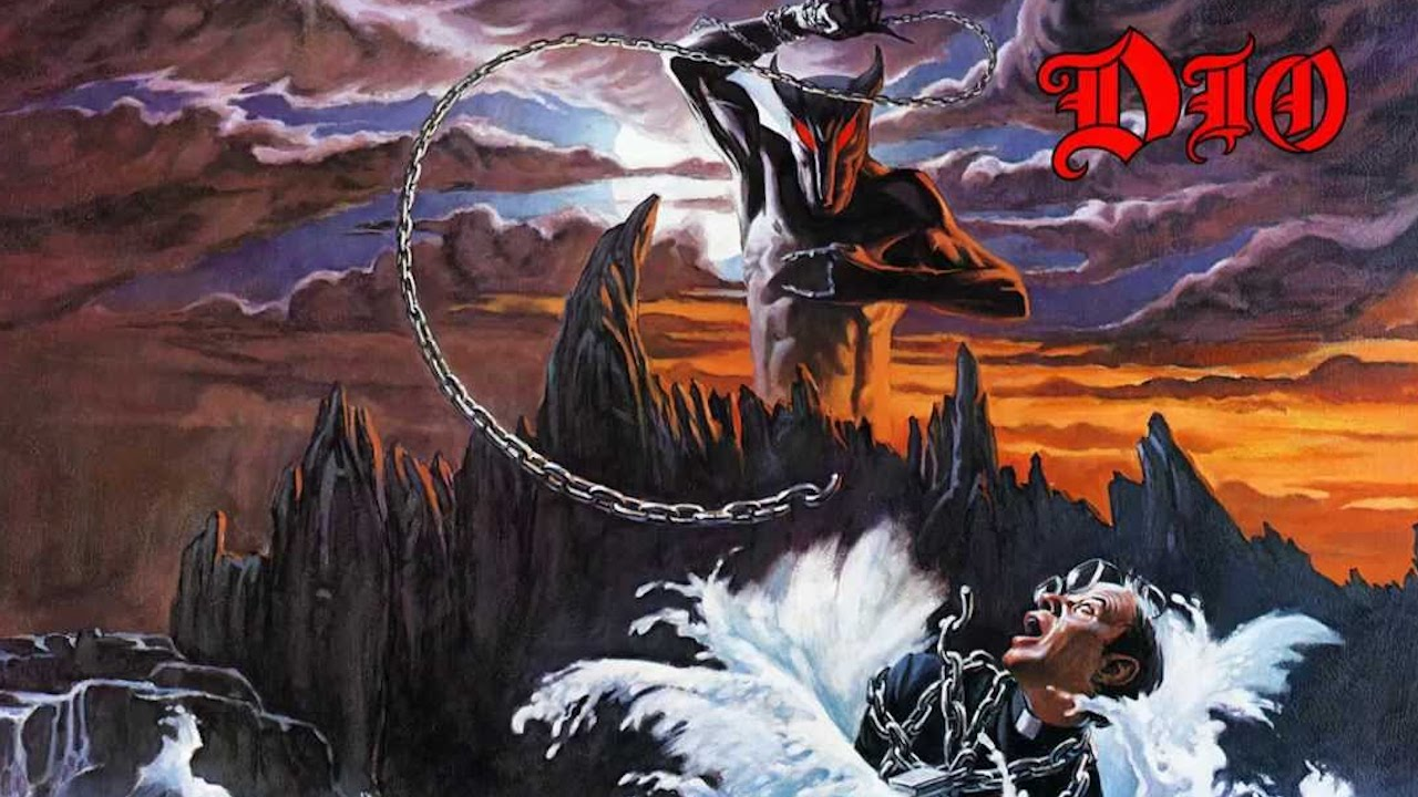Dio's Holy Diver Album Cover