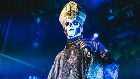 Art for Ghost and Zombi live at the Forum, London - live