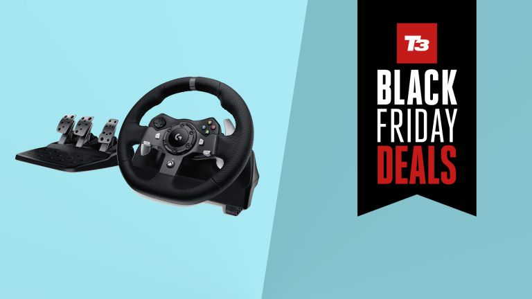 Logitech G920 Driving Force Racing Wheel deal amazon black friday deal