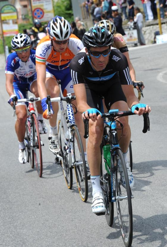 Michael Barry escape, Giro d'Italia 2010, stage nine