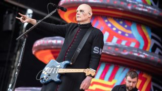 Billy Corgan performs live with Smashing Pumpkins