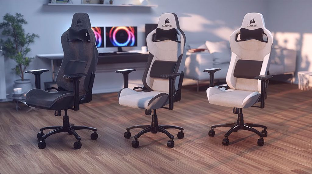 At $299 the T3 Rush is Corsair's least expensive gaming chair to date