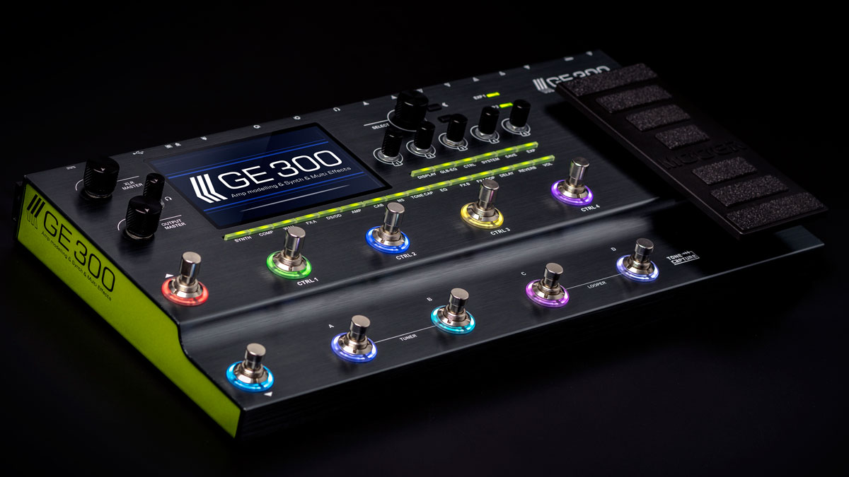 NAMM 2019: Mooer set to disrupt multi-effects market with astonishingly feature-rich GE300