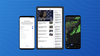 New features include more customization options, dark mode, trending news feeds, and weather precipitation alerts in English and Spanish