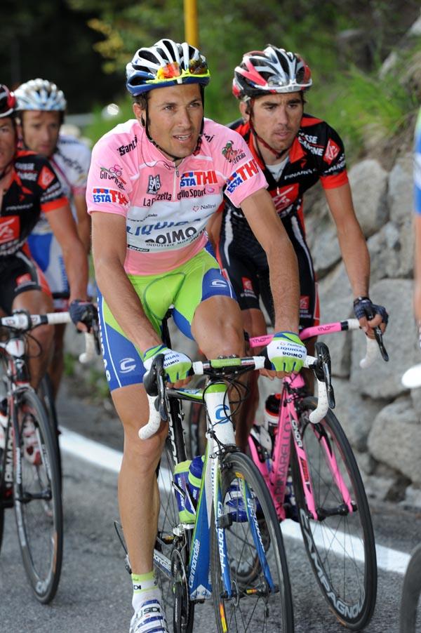 Ivan Basso, Giro d'Italia 2010, stage 20