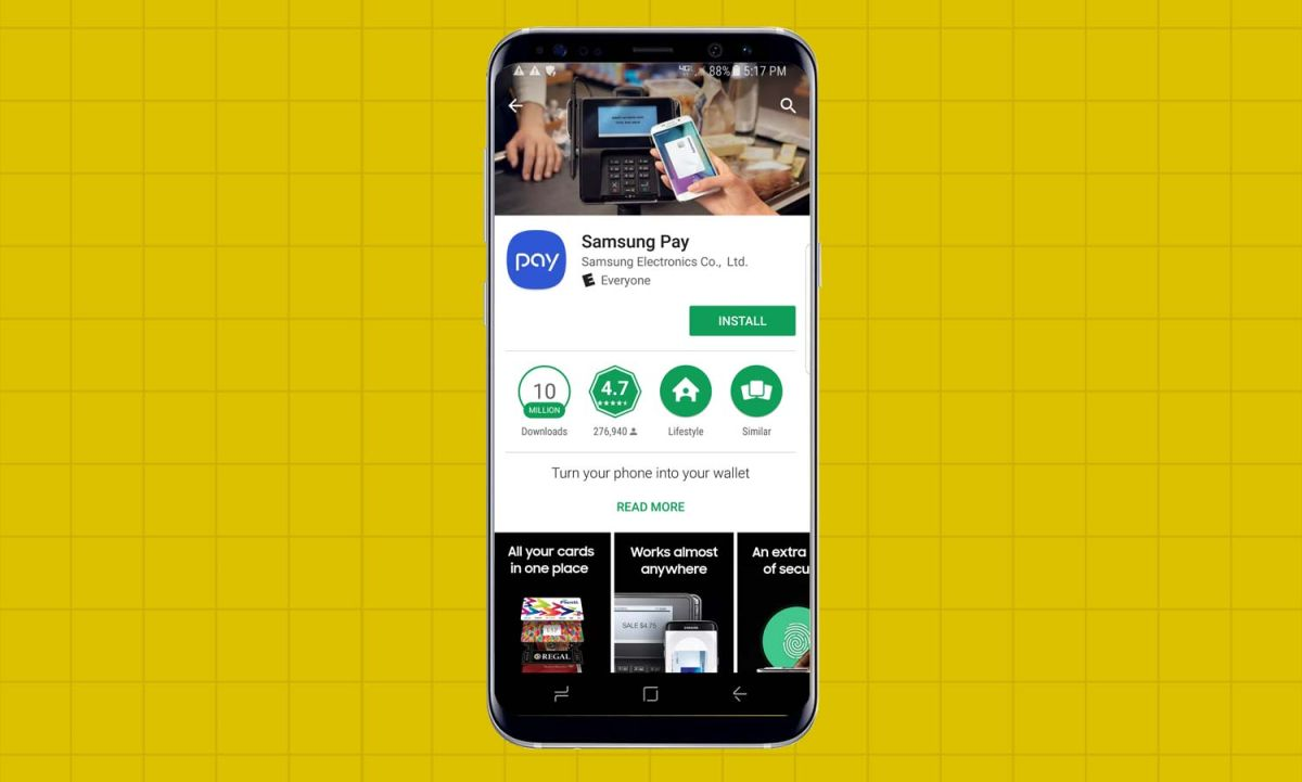 How to Set Up Samsung Pay on the Galaxy S8 - Samsung Galaxy S8 User