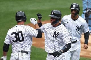 2021 New York Yankees in action