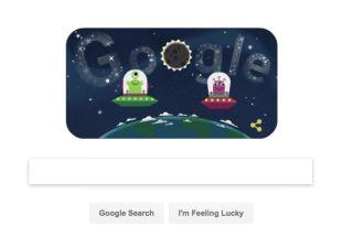 Google Total Solar Eclipse Doodle