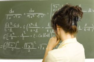 Survey data indicates math teachers hold biases about white girls' versus white boys' ability.