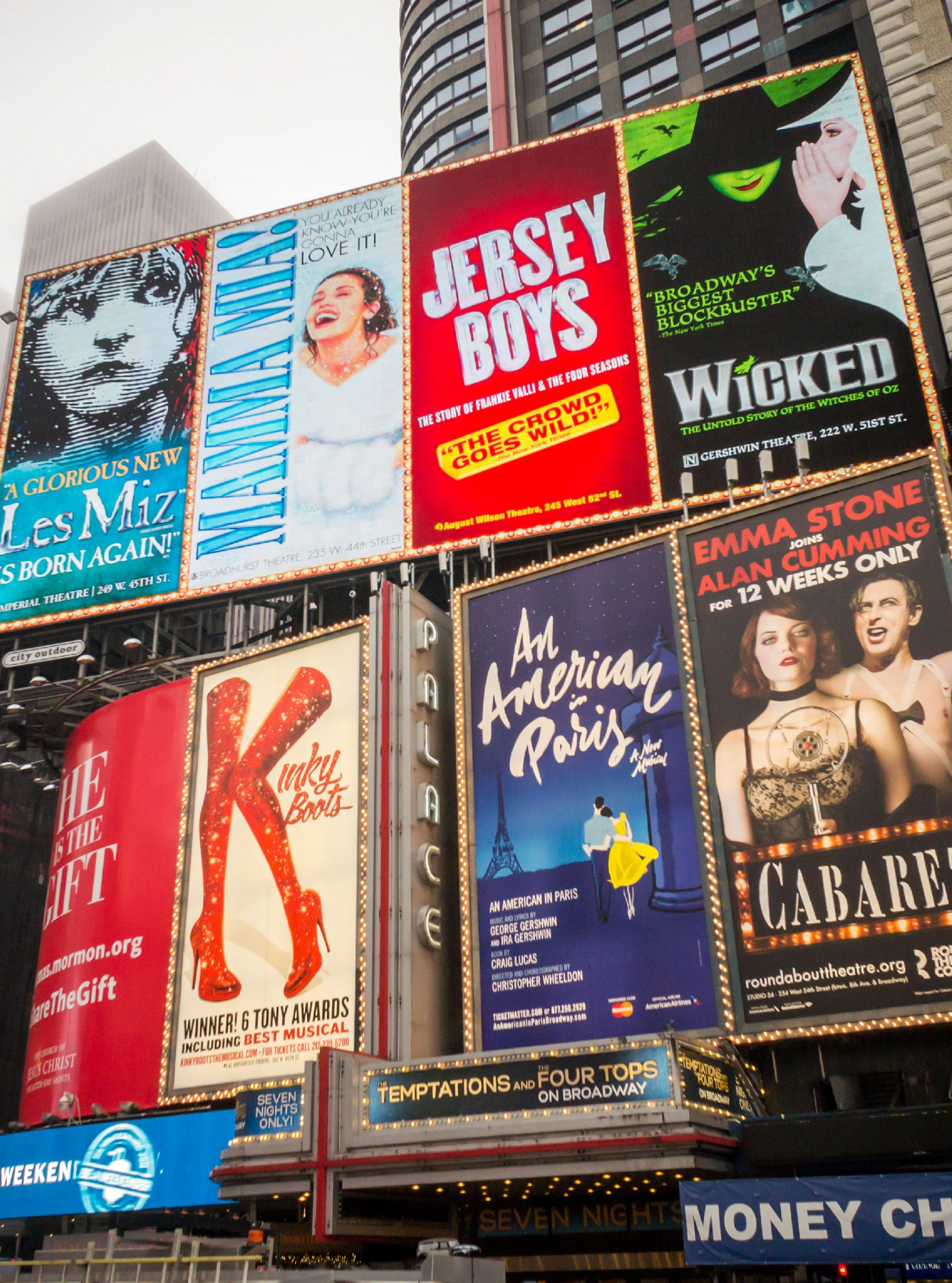 west end shows