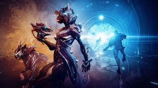 An image of Warframe for Official PlayStation Magazine