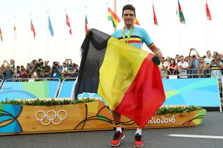 Greg Van Avermaet flew the flag with gold in Rio