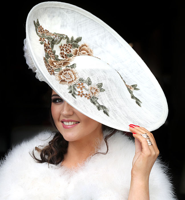 Procrastinate By Looking At These Lovely Hats From The Cheltenham Races