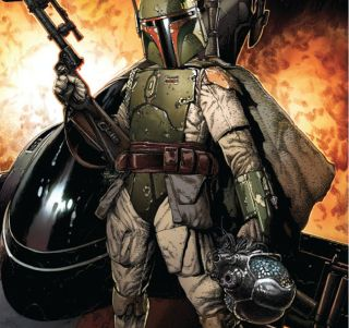 """Boba Fett gets more than he bargained for in the new Marvel comics series """"Star Wars: War of the Bounty Hunters."""""""