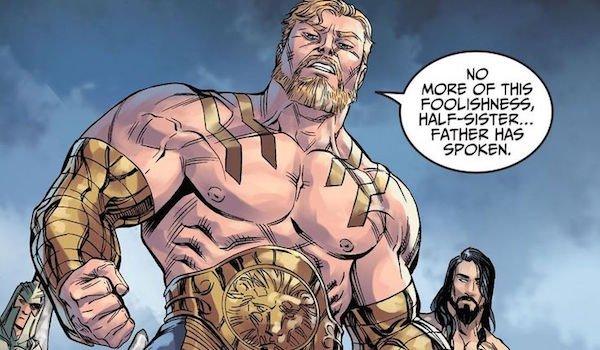 Hercules from Injustice comics