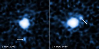 Faraway Dwarf Planet 'Snow White' and Its Moon
