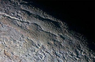 Pluto mountains
