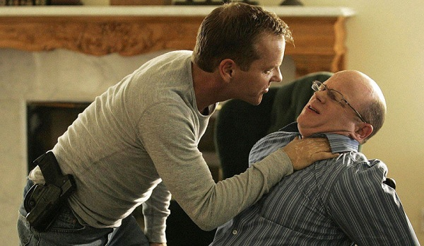 24 Jack Bauer torturing his brother for information