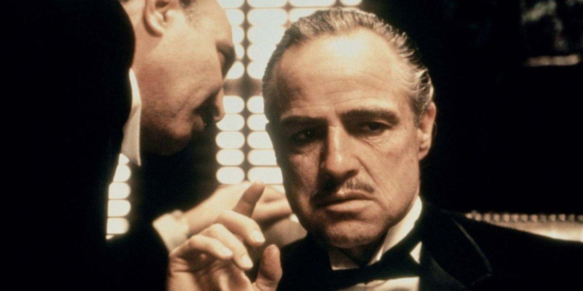 Marlon Brandon in The Godfather