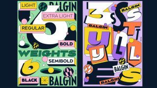 fun fonts: happy font Balgin