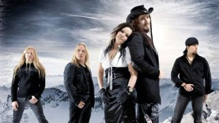 A photograph of Nightwish taken in 2007