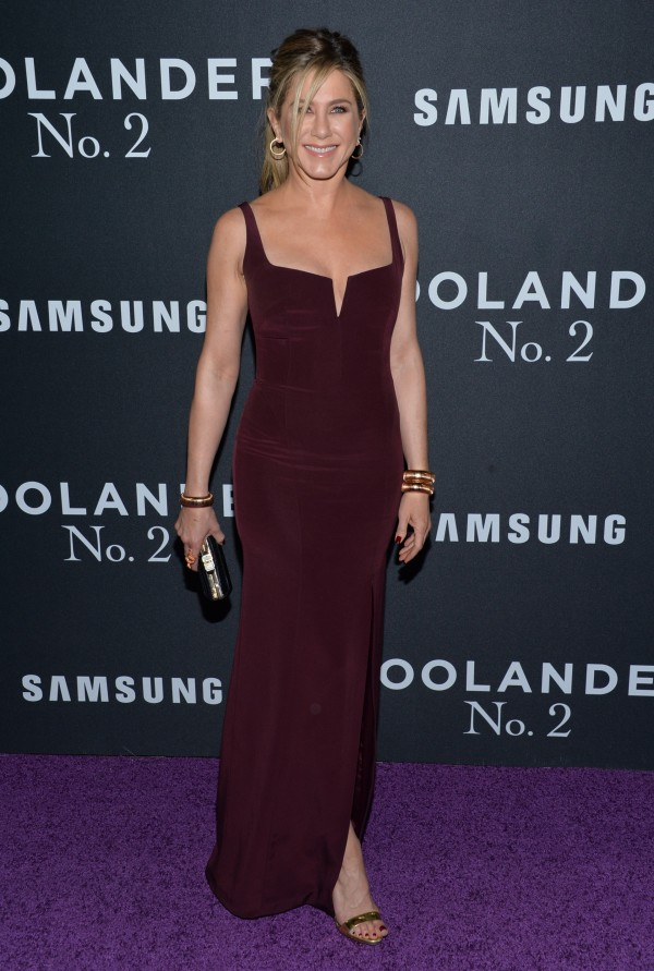 Jennifer Aniston attends the world premiere of