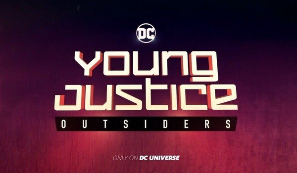 dc universe young justice outsiders title card