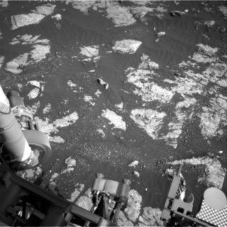 Mars Curiosity 18th drill hole