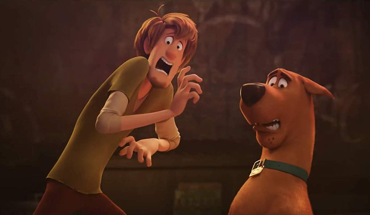 Shaggy and Scooby-Doo in Scoob!