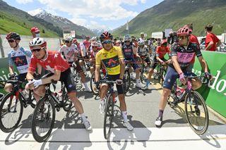 Tour de Suisse 2021 85th Edition 6th stage iesch Disentis Sedrun 1301 km 11062021 Richard Carapaz ECU Ineos Grenadiers photo Peter De VoechtPNBettiniPhoto2021