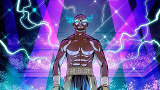 Undefeated - Floyd Mayweather Jr. comic