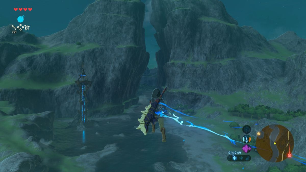 Breath of the Wild speedrunners freak out after discovering a bug that lets Link fly