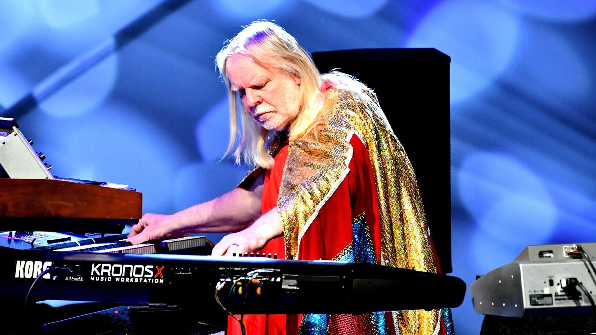"""Rick Wakeman on his top 5 synths: """"I suddenly had an instrument ..."""