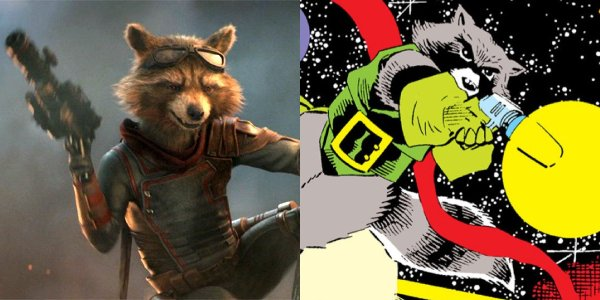 Rocket Raccoon (Bradley Cooper, Sean Gunn) totally deserves his own movie