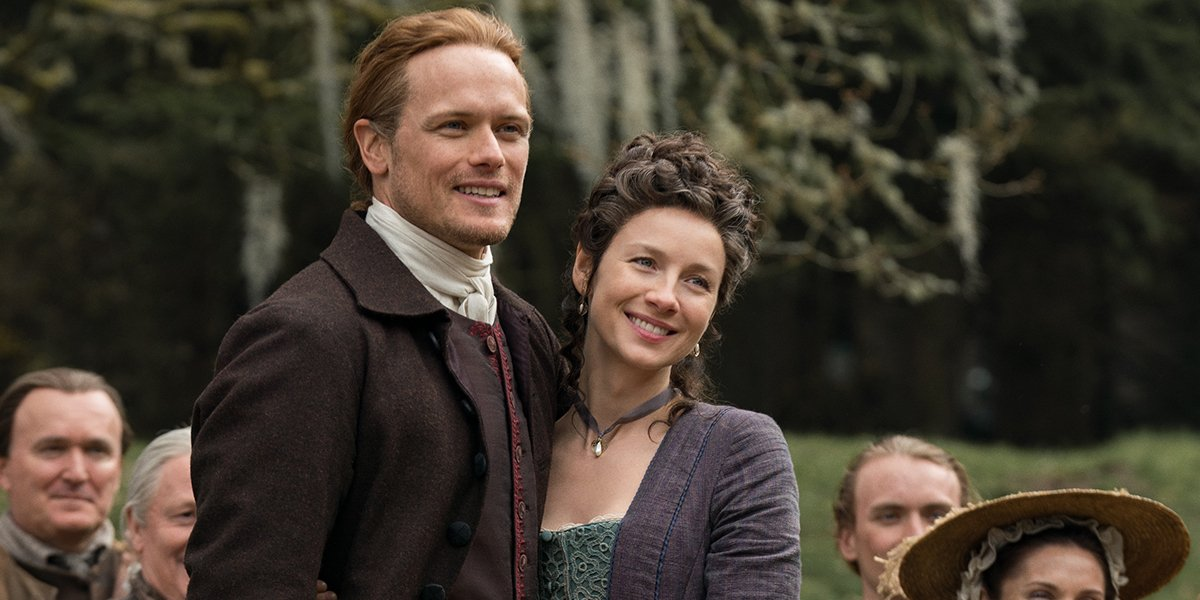Outlander's Caitriona Balfe Sends Her Work 'Hubby' Sam Heughan Sweet Wishes On His Birthday