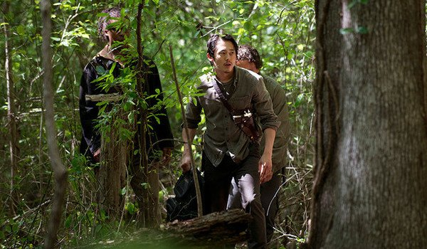 Glenn in woods