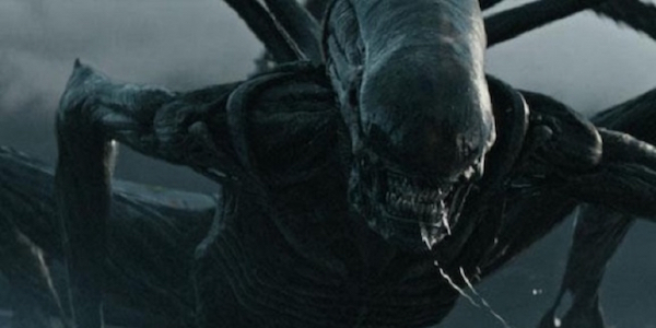 A Xenomorph attacking during Alien: Covenant's Trailer