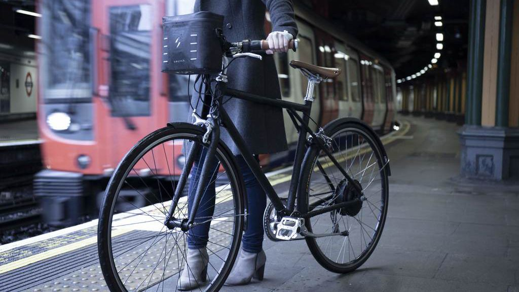 The Swytch electric conversion kit can power any bicycle