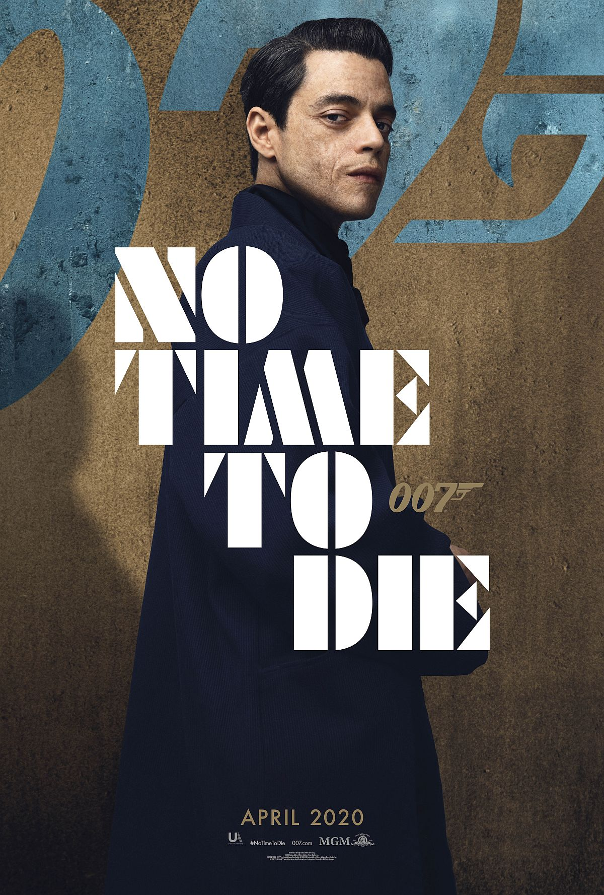Rami Malek poster for No Time To Die