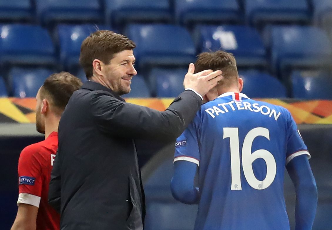Steven Gerrard thrilled with attacking quality of free-scoring Rangers