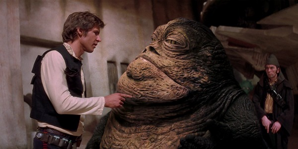 Han Solo and Jabba
